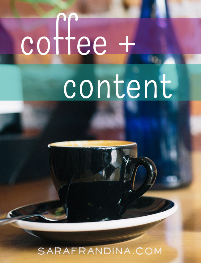 coffee + content: a roundup of reads on email marketing, solopreneur burn out, fulfillment, and more