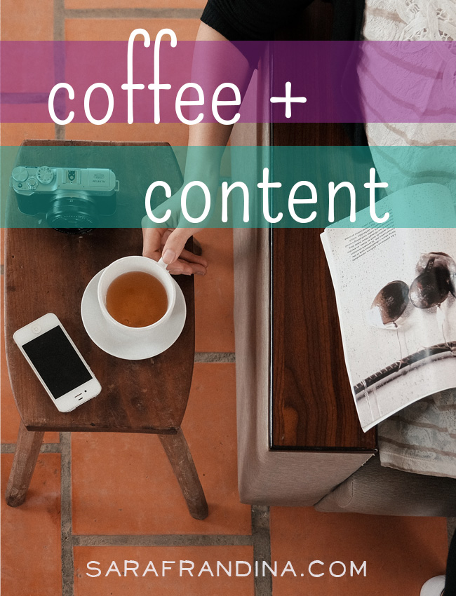 coffee + content: a roundup of reads on being a writer, doing business, learning CSS + more