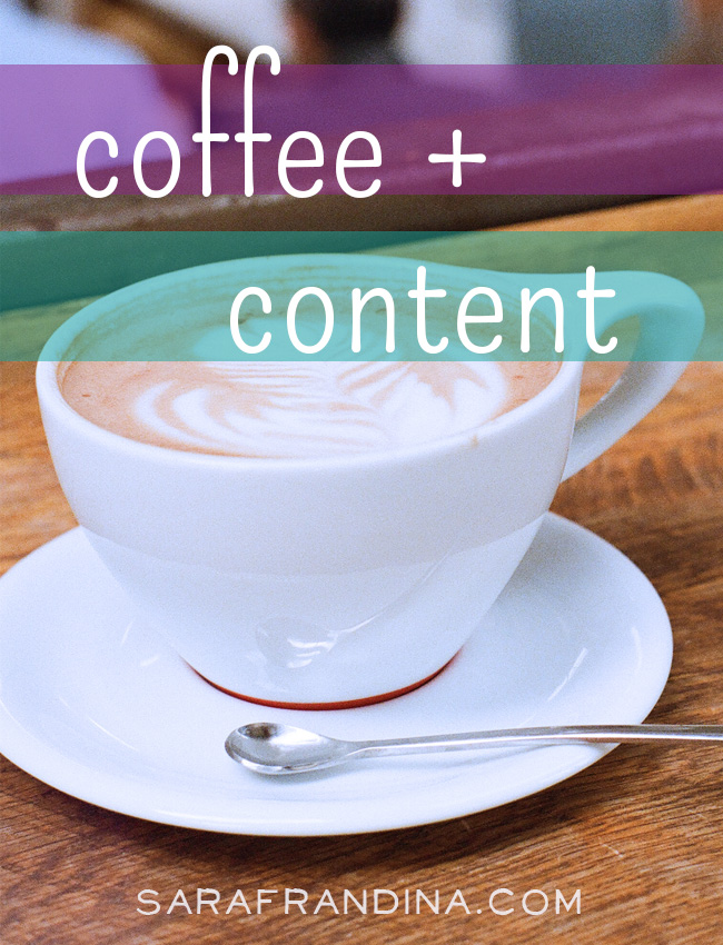 coffee + content: a roundup of reads on writing, email overwhelm, productivity, bad habits and more