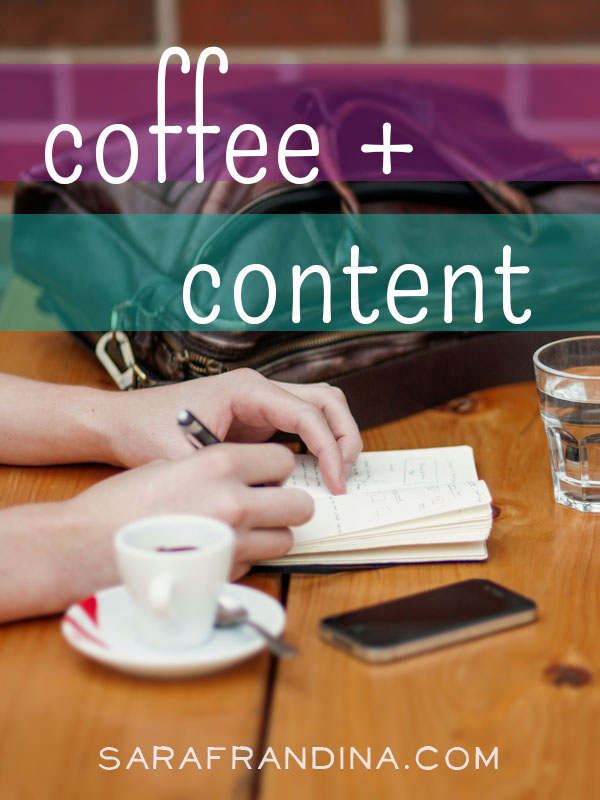 coffee + content, a roundup of reads on SEO, freelancing, automation and more