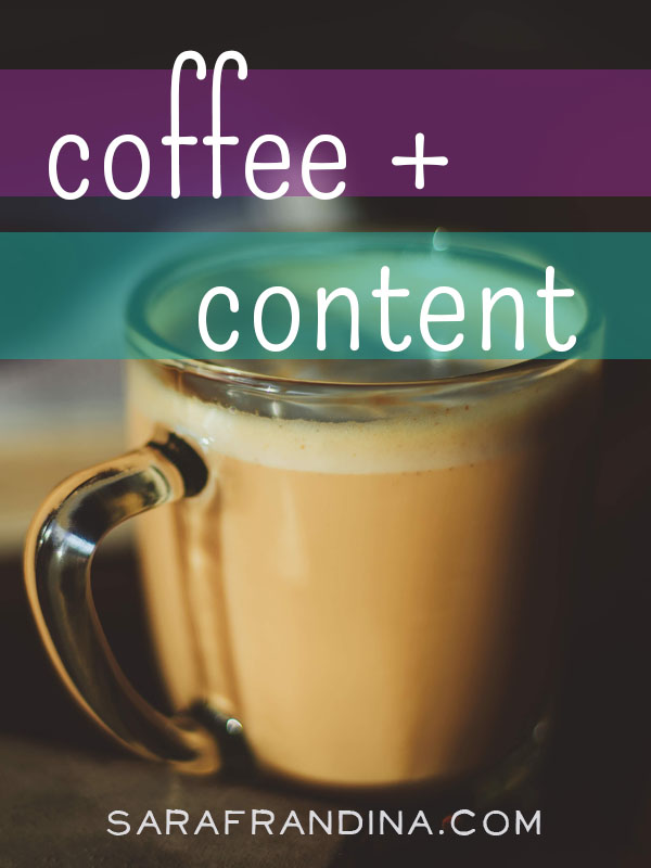 coffee + content: roundup of reads on writing, procrastination, launching, and more