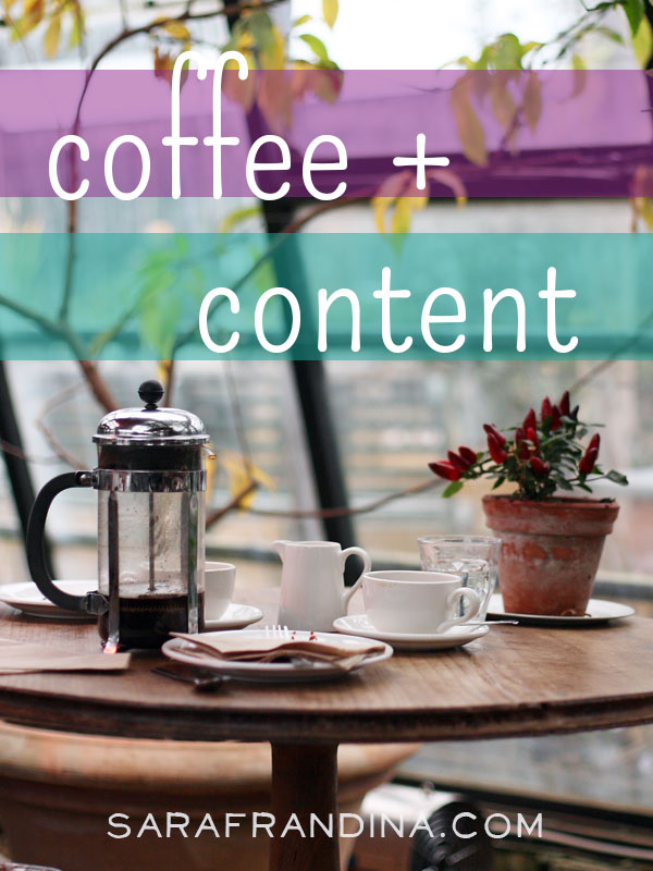 coffee + content: a roundup of reads on listening, creativity, minimalism + more