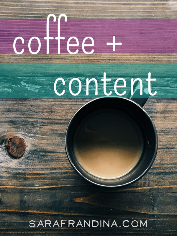 coffee + content: reads on SEO, being a writer, and more
