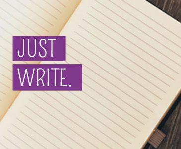 Just write.